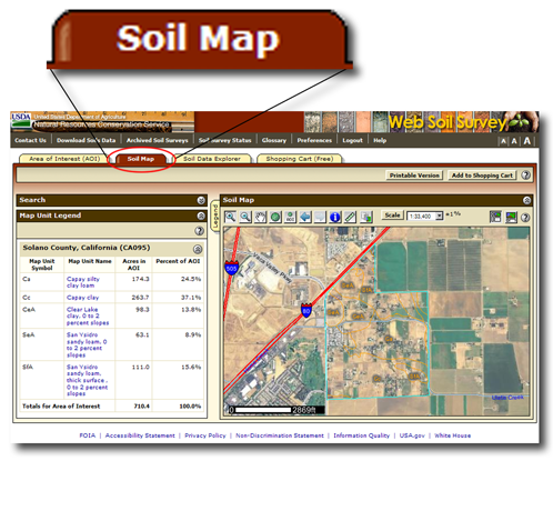 Soil map my blog for American soil
