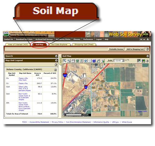 Web Soil Survey - Home